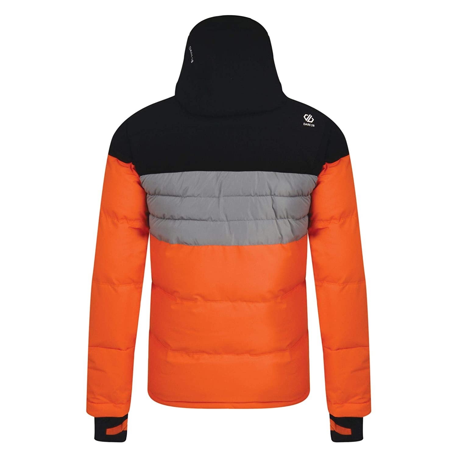 Hombre Dare 2b Connate Waterproof /& Breathable Quilted Silhouette High Loft Insulated Ski /& Snowboard Hooded Jacket Chaquetas aislantes Impermeables