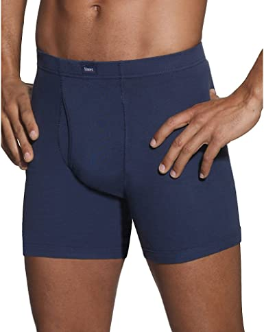 Colors May Vary Hanes Mens 5-Pack Sports-Inspired Boxer Brief