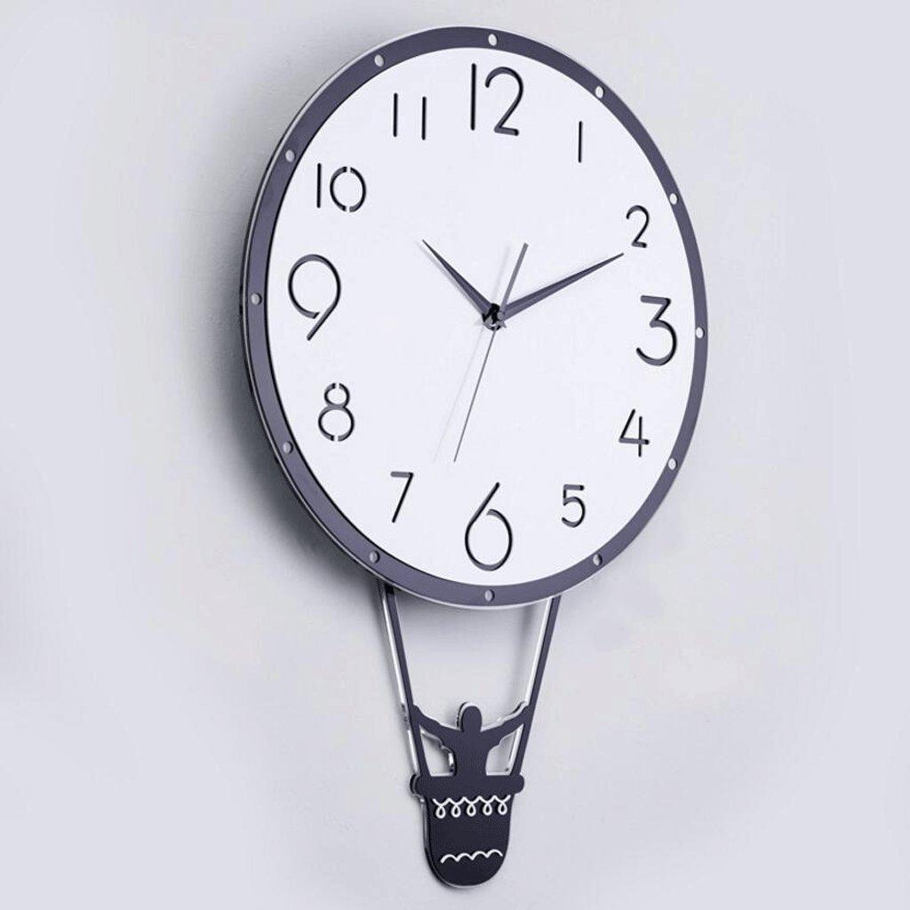 GAOLILI 家庭用時計クリエイティブなハンギングテーブルモダンなリビングルームミュートベッドルームクォーツ時計 ( サイズ さいず : 48*71cm ) B07C3ZJZ5Q48*71cm