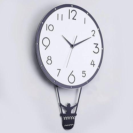 GAOLILI Uso en el hogar Reloj Mesa colgante creativa Sala de ...