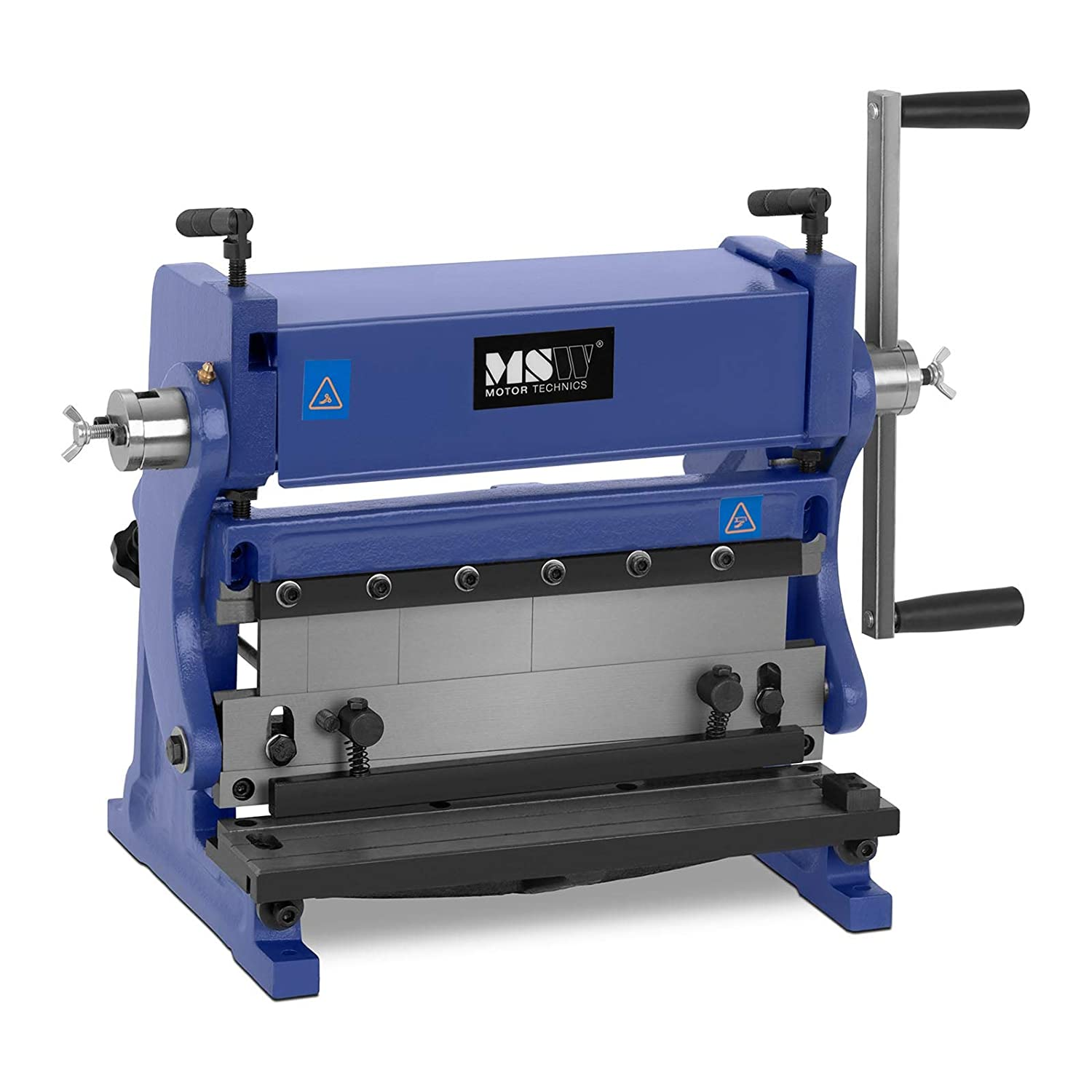 MSW 3-in-1 Combo Sheet Metal Roller Slip Roll Machine Plate Roll Manual Wire Brake Shear Bend 305mm MSW-MFM-3IN1-305 (Max. Workpiece Thickness 1mm, Bending Angle 90°, Rollers Steel, Frame Steel)