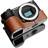 GARIZ SONY α6500用 本革カメラケース XS-CHA6500CM キャメル