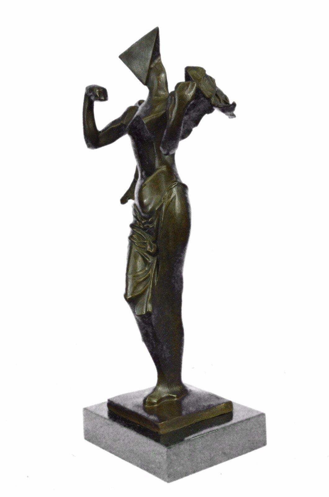 Handmade European Bronze Sculpture Salvator Dali Surrealistic Angel Abstract Modern Art Art Bronze Statue -UKXN-2546-Decor Collectible Gift by Bronzioni (Image #2)