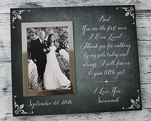 10x12 First Man I ever loved wedding gift for father of bride, Father's Day Gift, dad Christmas