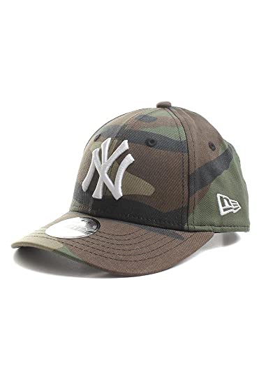 Niños New York Yankees MLB League Essential Jr 9Forty Gorra de beisbol Ajustable Fit Woodland Camo NIÑO AGE 2-5 Tamaño Ajustable: Amazon.es: Ropa y ...