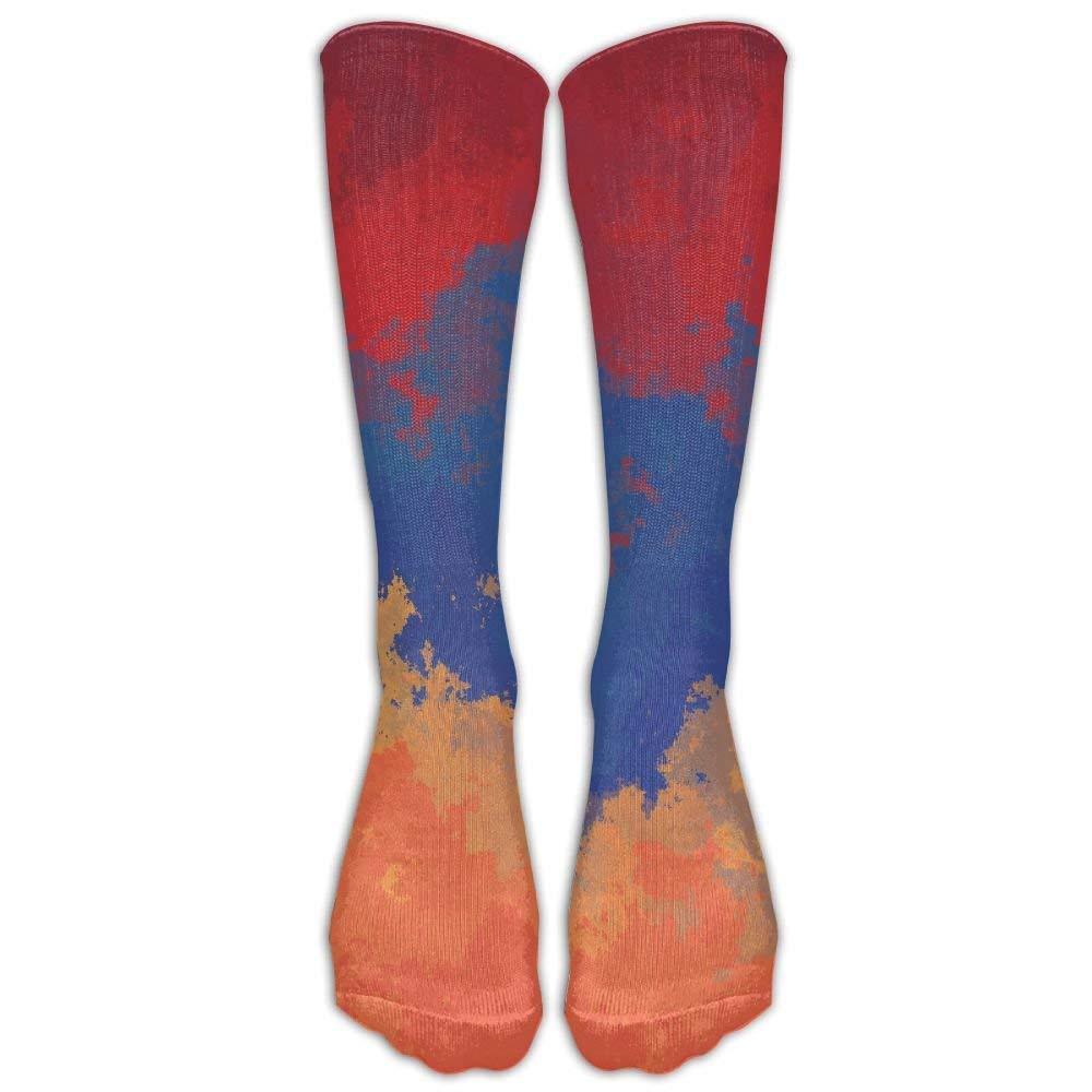 Armenian Flag Sport Novelty Calf High Athletic Sock Outdoor Gift