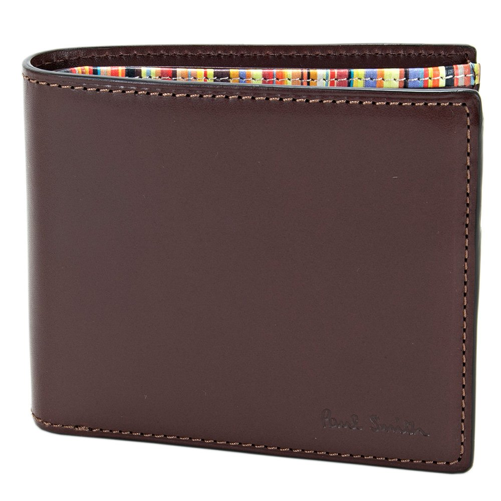 ポールスミス Paul Smith 財布 二つ折り財布 メンズ オールドレザー 833170 P906N ダークブラウン B06XDH6RSB