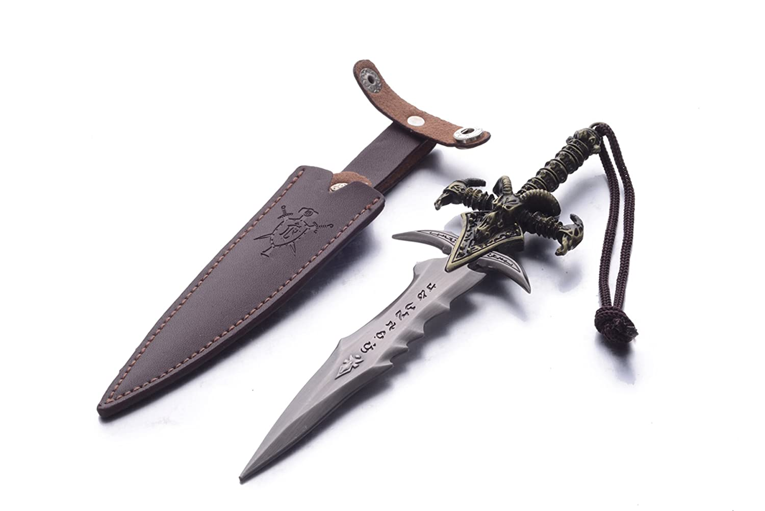 Hairai World of Warcraft Thunderfury Blessed Blade of the Windseeker Wind Keychain,WOW Weapon Keychain for Men