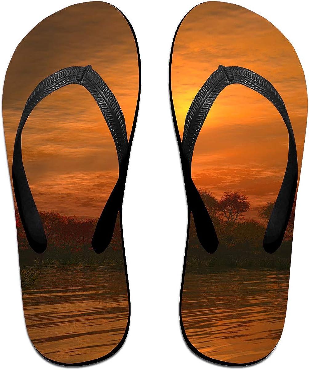 ShaoyingYang Sunset Beach Slippers Slippers