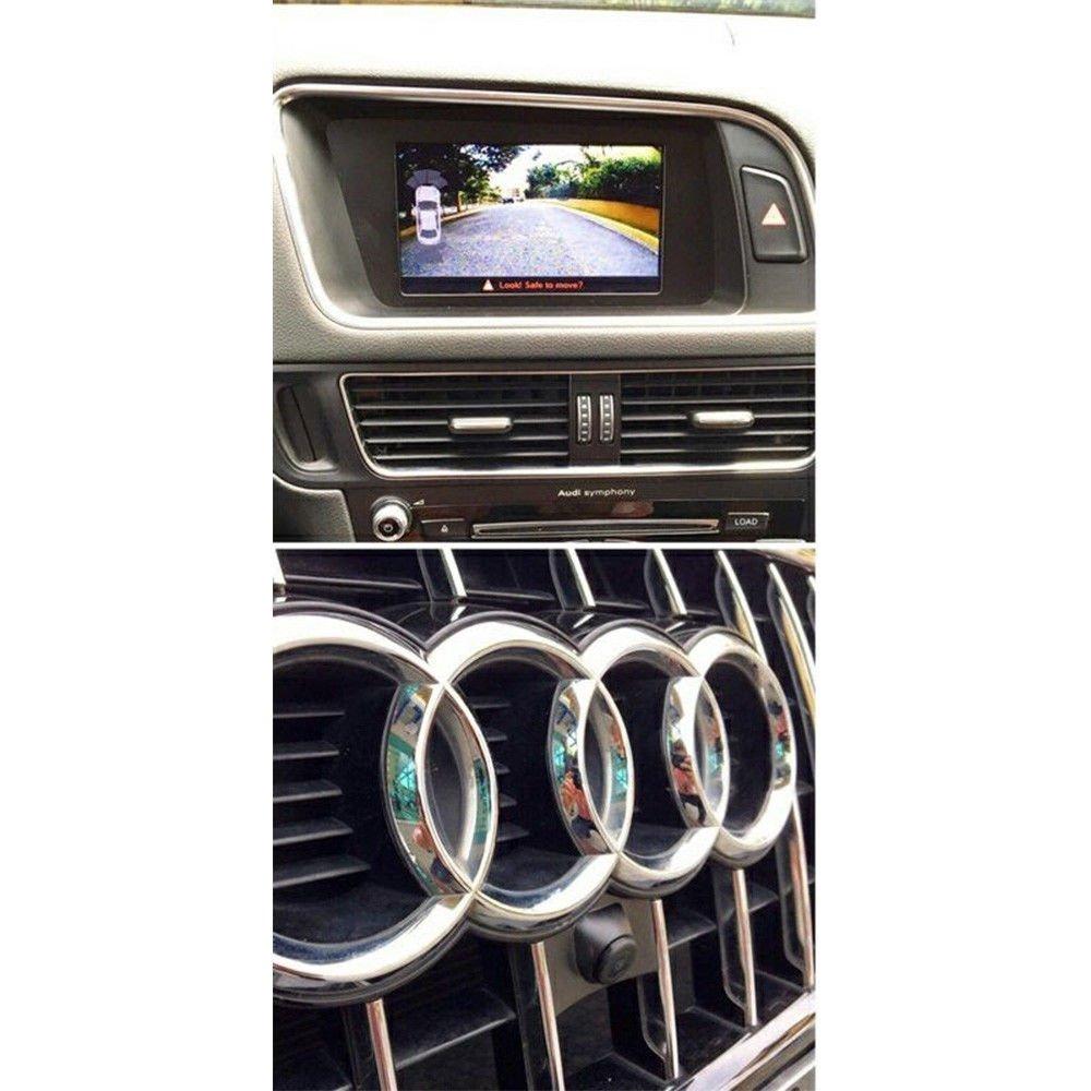C/ámara de vista frontal del coche Logotipo C/ámara frontal incorporada para AUDI A1 A2 A3 A4 A5 A6 A7 A8 Q2 Q3 Q5 Q5L Q7 S5