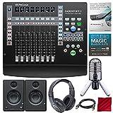 PreSonus FaderPort 8 channel Mix Production Controller with Studio One 3 Professional Software Upgrade, Studio Monitors, and Premium Music Creation Studio Bundle