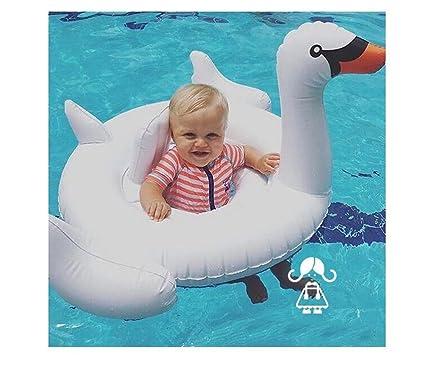 Amazon.com: o-toys cisne blanco flotador de bebé piscina ...