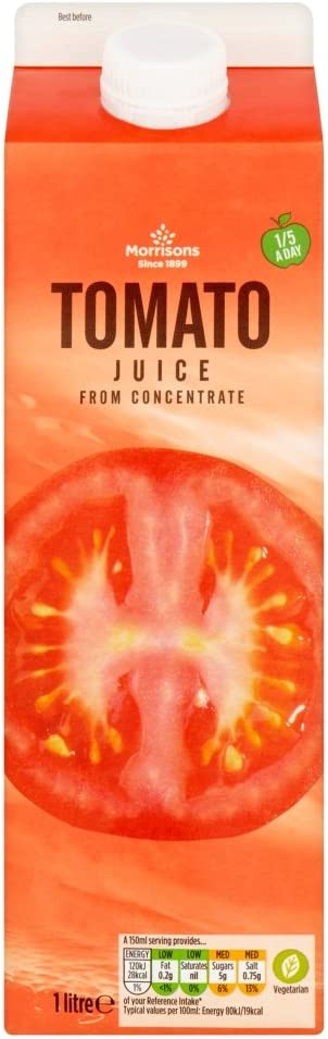 Morrisons Tomato Juice From Concentrate