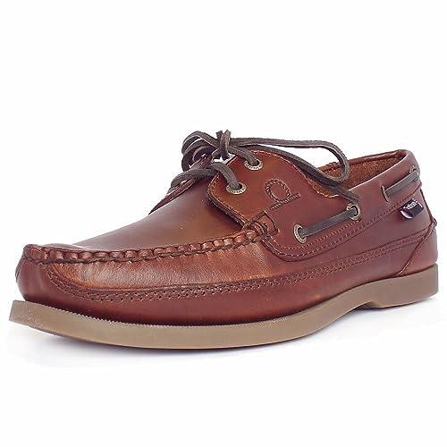 D252 - Náuticos de cuero para hombre, color marrón, talla 40 Chatham Marine