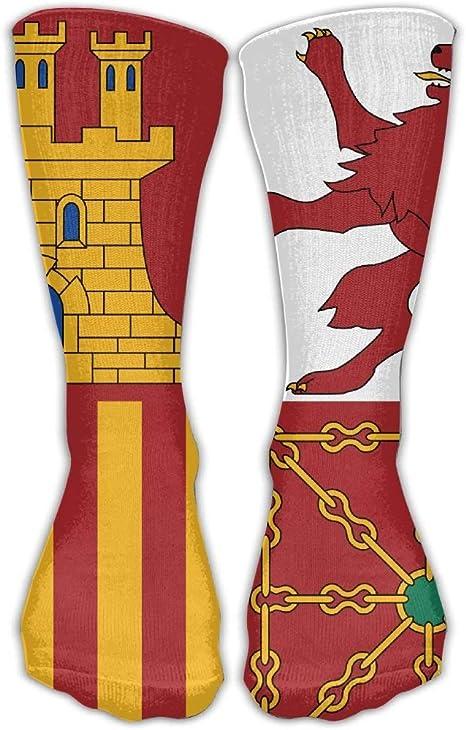YuanHu Símbolos de Banderas de España Unisex Novedad Calcetines de Equipo Vestido de Tobillo Calcetines Se Adapta al Zapato: Amazon.es: Deportes y aire libre
