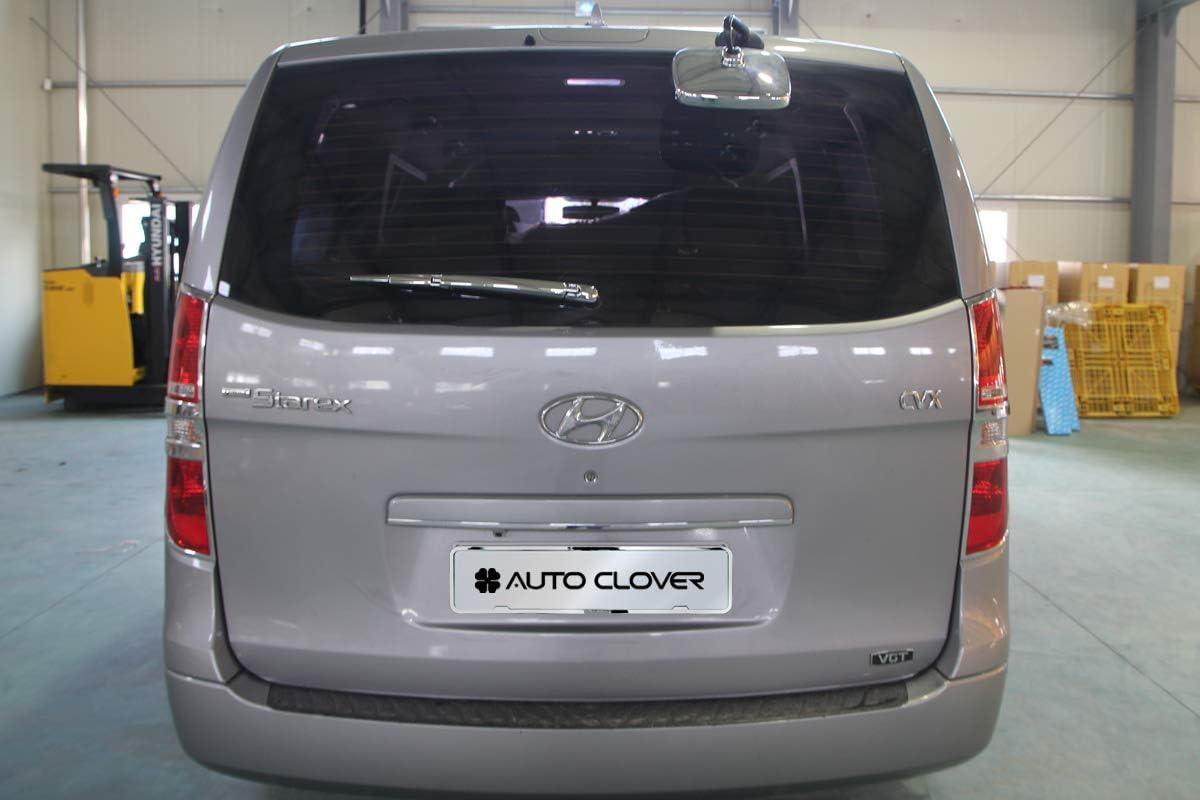 Autoclover C271 - Brazo de limpiaparabrisas trasero cromado y sensor de aparcamiento: Amazon.es: Coche y moto