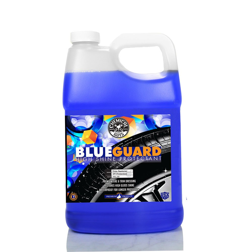 Chemical Guys TVD_103 Blue Guard II Wet Look Premium Sprayable High Gloss Shine Dressing and Conditioner for Rubber and Plastic (1 Gal) by Chemical Guys (Image #1)