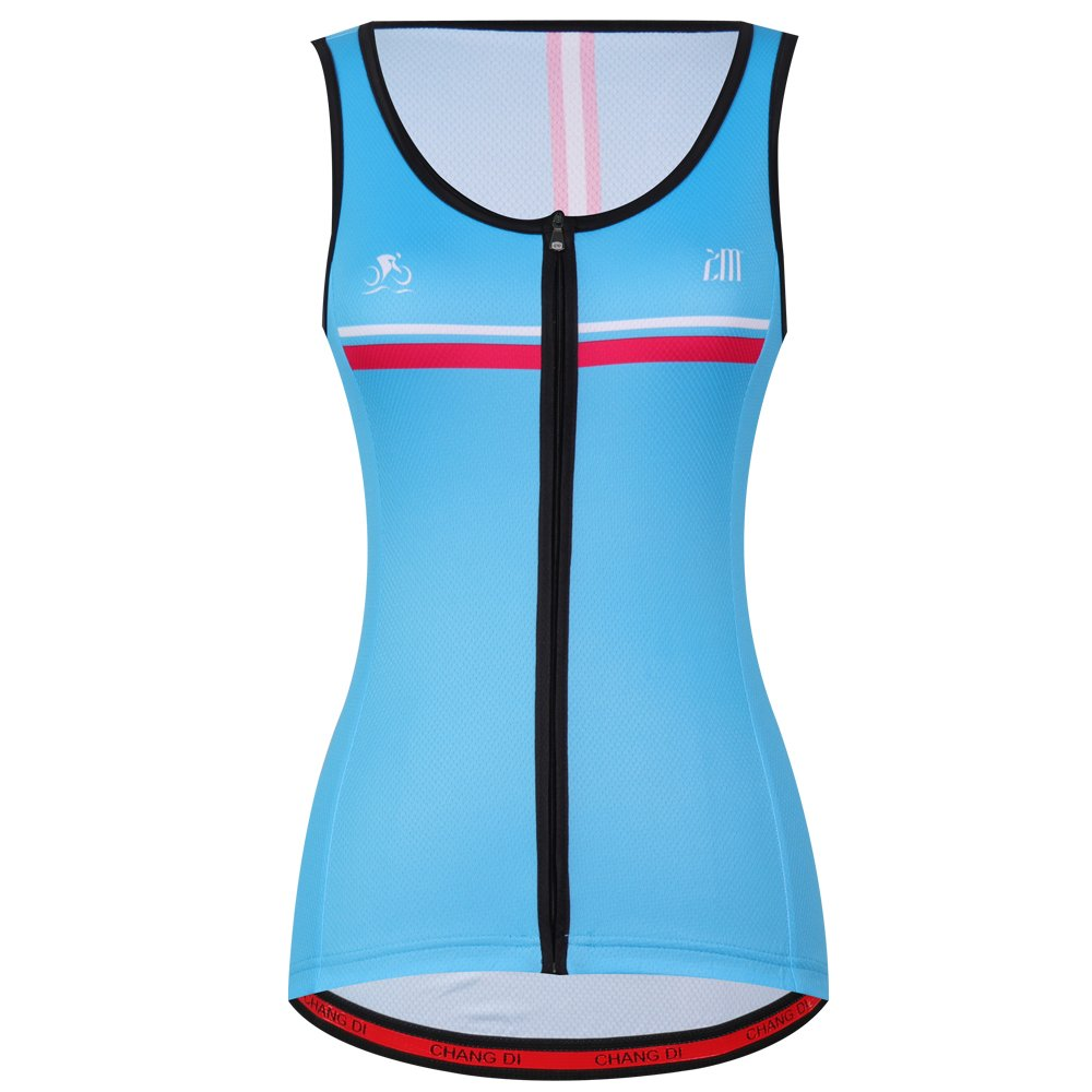 zm Women Bicycle Jersey Sleeveless Cycling Vest Wear Outdoor Breathable Bike Clothing CHUANG DI Apparel co. LTD.