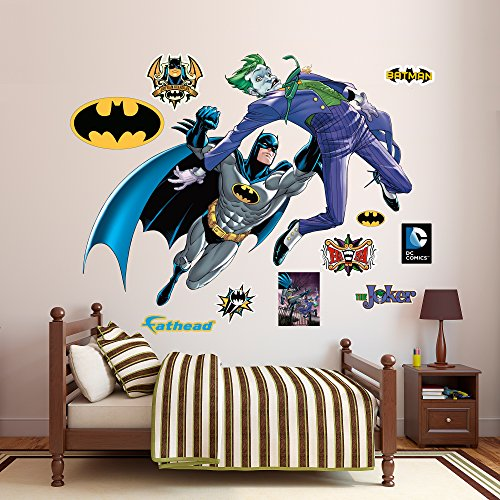Fathead Batman and The Joker Battle Vinyl Decals
