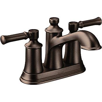 Moen Dartmoor Two Handle Low Arc Bathroom Faucet Oil