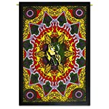 Bob Marley Indian Décor Cotton Tapestry Poster Size Multicolor Wall Hanging 42X30 Inches