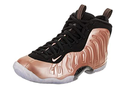 6ba0dbedd47 Nike Little Posite One Kids Rusty Pink White Black 644791-601 (Size