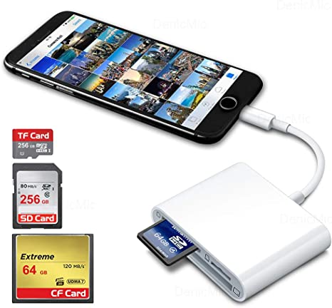 USB Kit Echograph iPad CF Card Reader