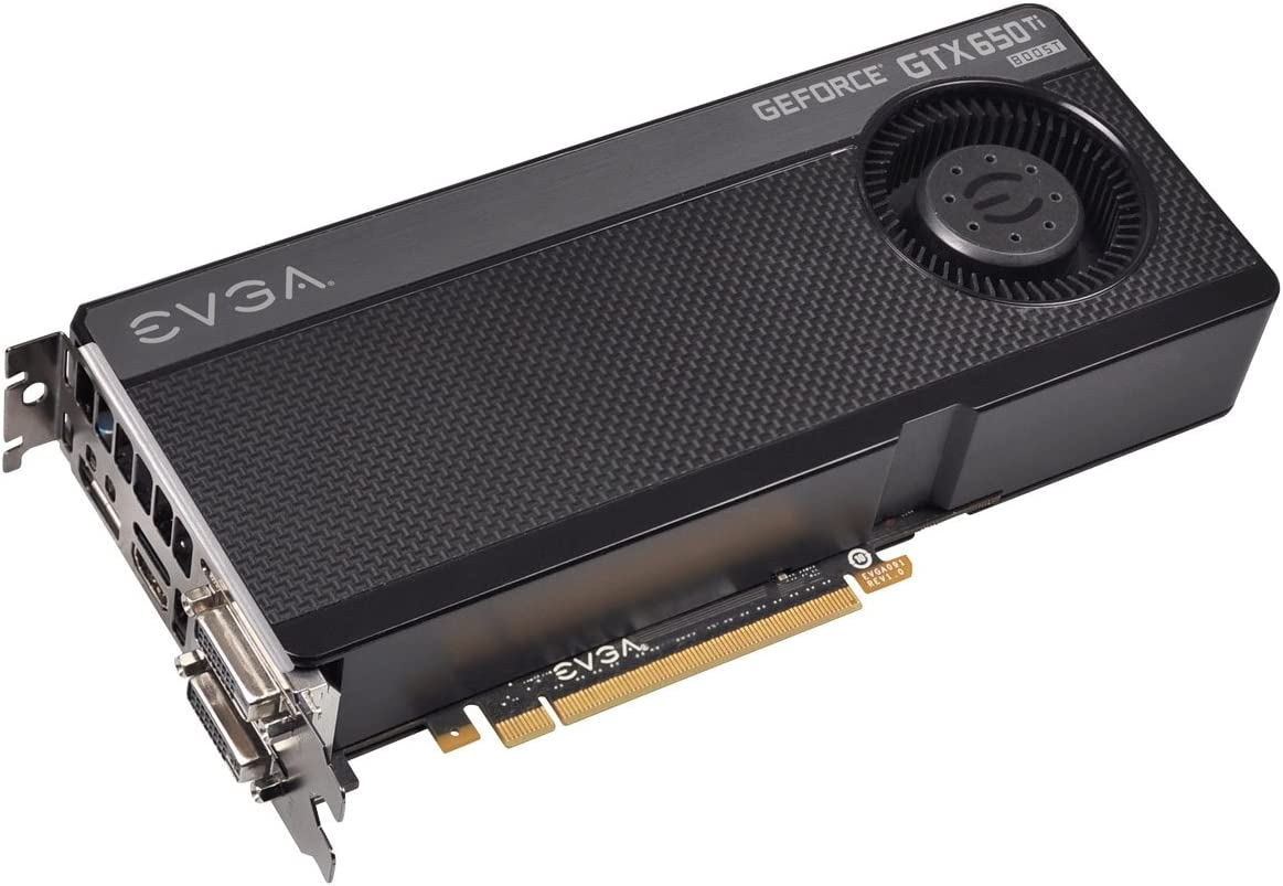 EVGA GeForce GTX 650 Ti Boost Superclocked 2GB - graphics cards (Active, ATX, Windows 7 Home Basic, Windows 7 Home Basic x64, Windows 7 Home Premium, Windows 7 Home Premium x64, , NVIDIA, GeForce GTX 650 Ti, GDDR5-SDRAM)