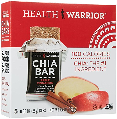 Health Warrior Chia Bar - Apple Cinnamon - 4.4 oz