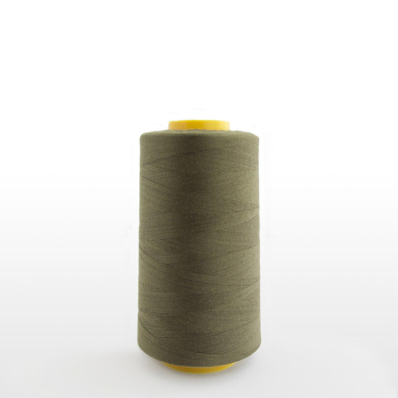 Serger Cone Thread 6000 yards per spool, Olive. LA Linen