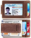 Best Front Pocket Wallets - Money Clip, Front Pocket Wallet, Leather RFID Blocking Review
