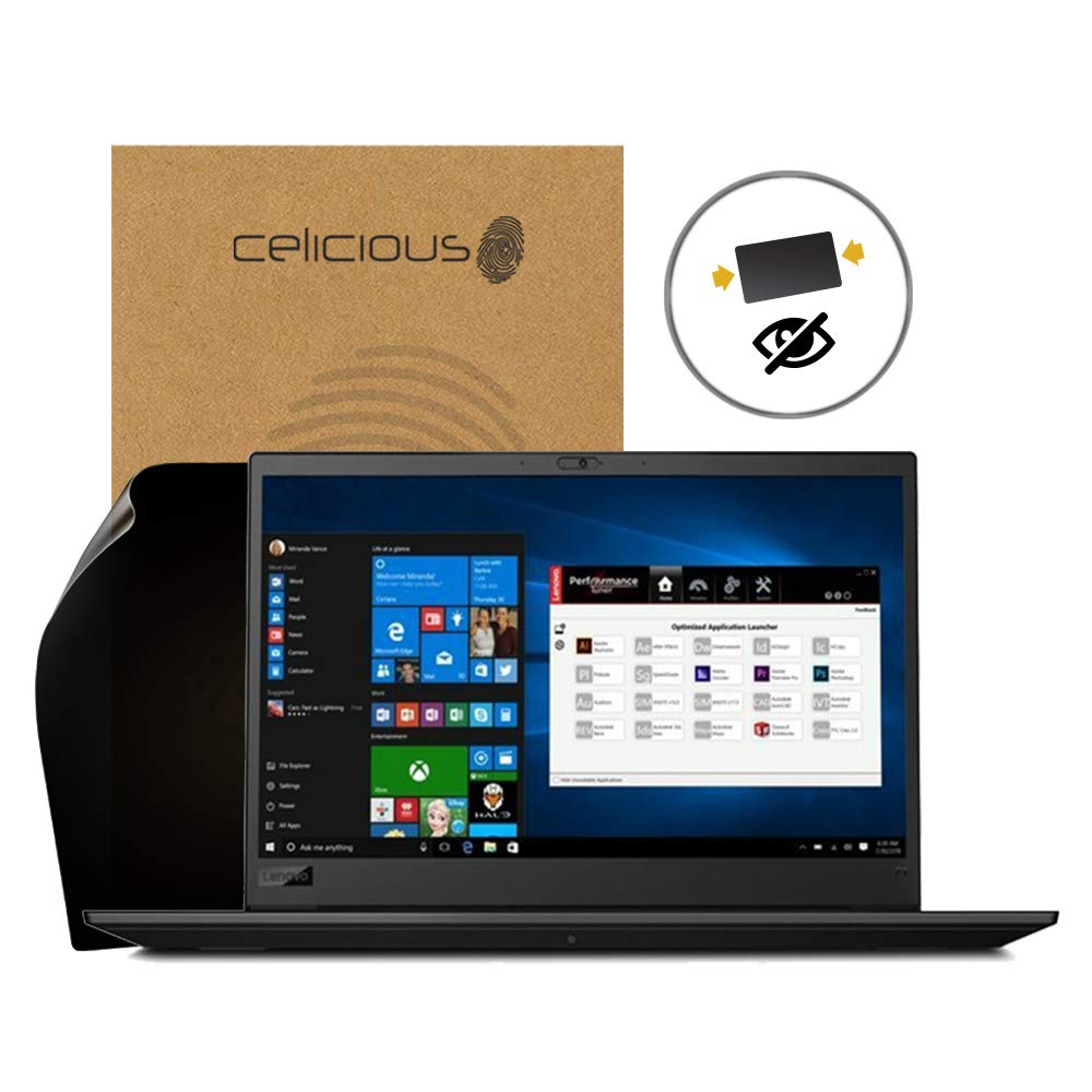 Celicious Privacy 2-Way Anti-Spy Filter Screen Protector Film Compatible with Lenovo ThinkPad P1 P2000 (Non-Touch)