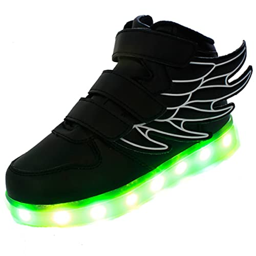 730105dbd36a0 Amazon.com | Ruiguan Boys Girls Kids Have Wings LED Shoes 7 Colors ...