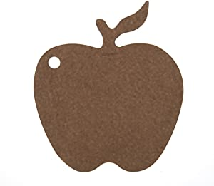 Epicurean Cutting Surfaces Novelty Series Cutting Board, Apple, Nutmeg