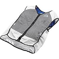 TechKewl Hybrid Cooling Vest Silver 3X-Large