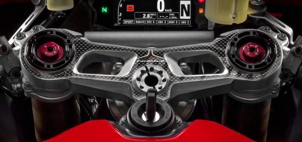kit in resina 3D adesivi compatibili per MOTO DUCATI 1199 PANIGALE S 2012-2017