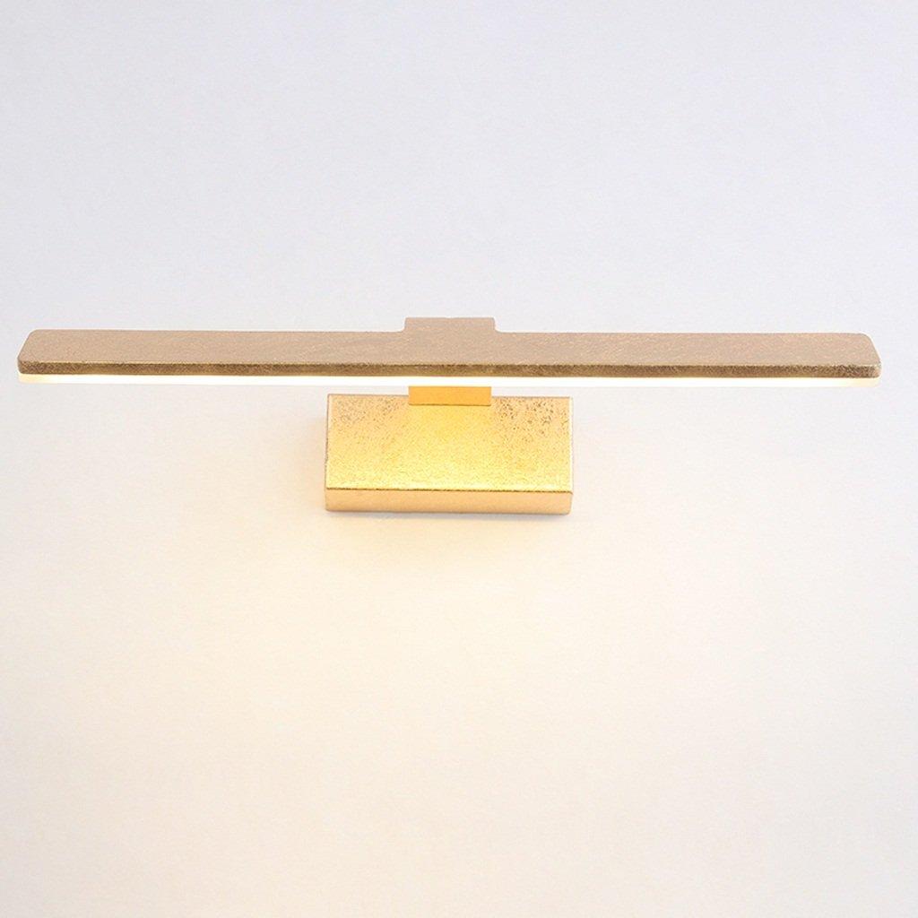 MLMHLMR Spiegellampe Badezimmertoilette Badezimmer führte Wasserdichte Europäische unbedeutende Make-upspiegel-Schlafzimmerwandlampe Wandleuchte (Farbe   B)