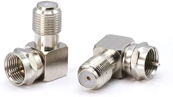10PACK N Connector Adapter Right Angle Coax Connectors 90 Degree N Male to N Female RF Coaxial Cable Connector by XRDS/_RF NOT for TV