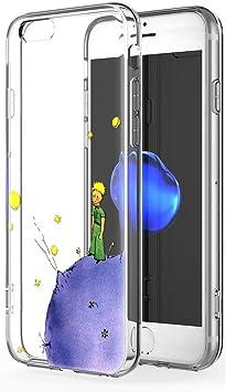 Funda iPhone 6s, YOEDGE Ultra Slim Cárcasa Silicona Transparente con Dibujos Animados Diseño Patrón [El Principito] Resistente 360 Bumper Case Cover para Apple iPhone 6s / 6 Smartphone (Púrpura): Amazon.es: Electrónica