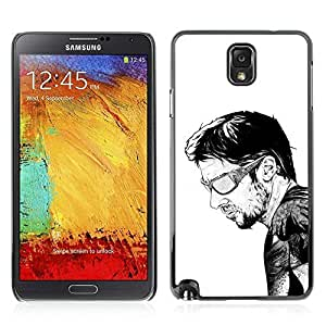 Colorful Printed Hard Protective Back Case Cover Shell Skin for Samsung Galaxy Note 3 III / N9000 / N9005 ( Cool Tattoo Illustration ) Kimberly Kurzendoerfer