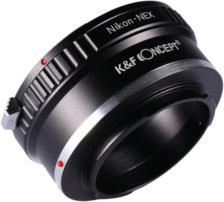 hudiemm0B Camera Adapter Ring Camera Adapter Ring for Nikon AI Lens to Sony NEX-7 6 5N A7S A7R II A6500 A6300