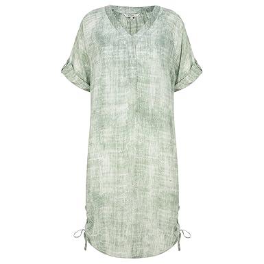 00398c7ab6d Sandwich Clothing - Washed Out Tunic Blouse, Hedge Green, 14 (40):  Amazon.co.uk: Clothing
