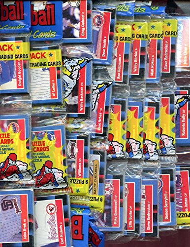 1988 Donruss Baseball (1988 Donruss Baseball Card Set 12 Rack Pack Equals Wax Box)