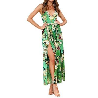 e53f3edef Keepwin Vestido De Mujer Falda Vestido Elegante De Noche para Boda  Vacaciones Largo Vestido De Coctel del Partido De Boho De Verano Vestido De  Playa De Las ...