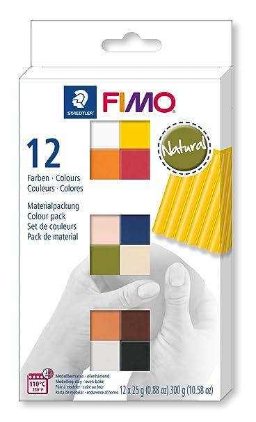 Staedtler 8023-C12-4. Pasta para modelar FIMO. 12 pastillas de ...