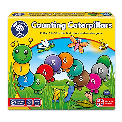 Orchard Toys Counting Caterpillars Board Game