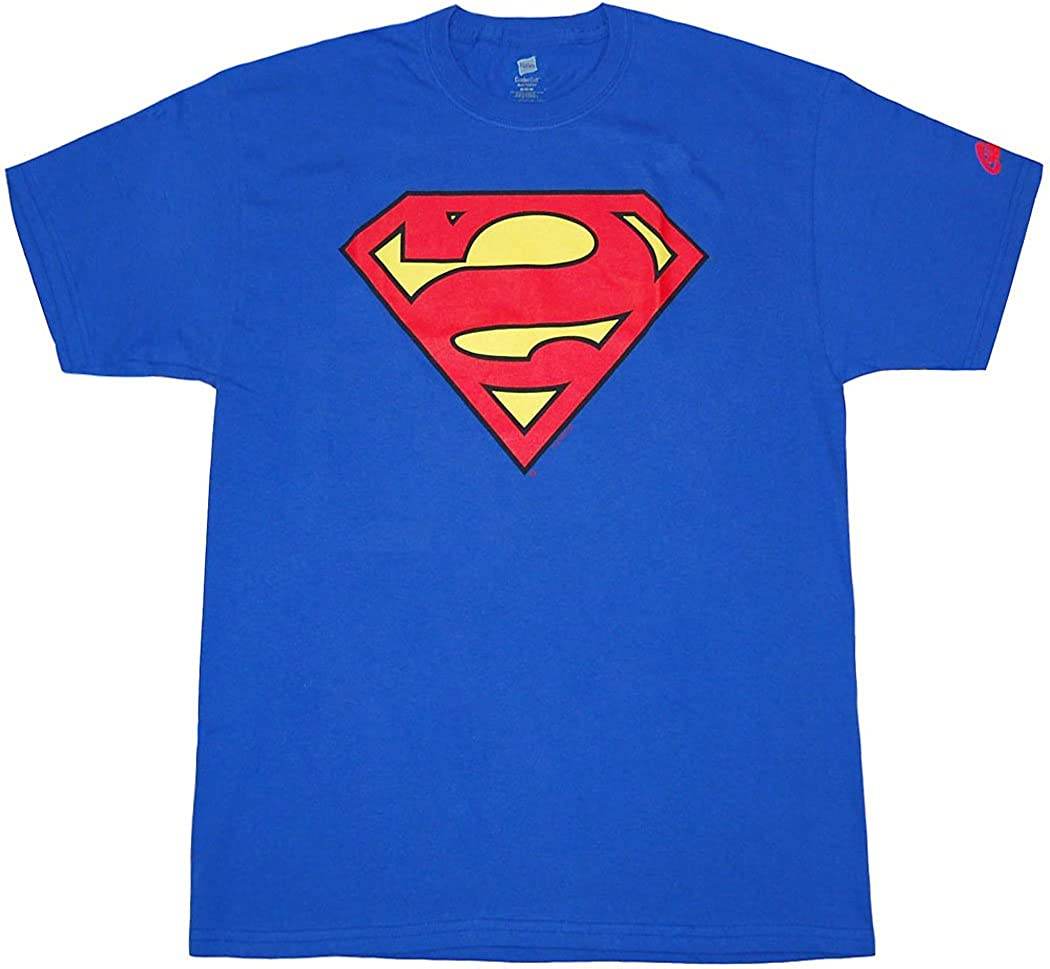Superman Bizarro With Symbol DC Comics Licensed Adult T Shirt