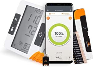 Bundle & Save Dario Diabetes Blood Glucose Meter Kit. Test Blood Sugar Estimate A1c. All-in-One Smart Blood Sugar Monitor Test Strips + Lancets (Android USB-C Only) + Bluetooth Blood Pressure Monitor