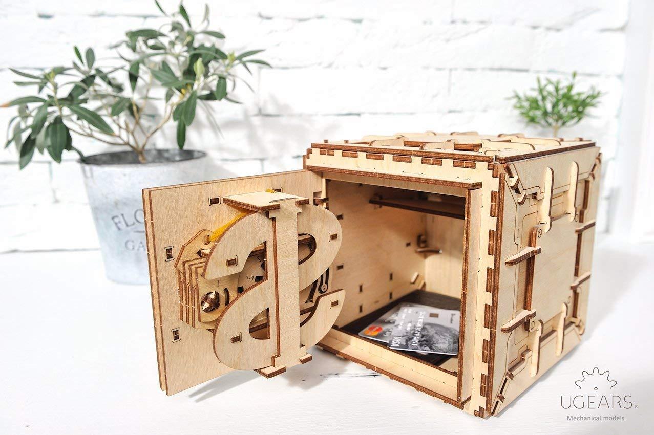 感謝の声続々! Ugears機械3dパズル安全、クリスマスギフト B075SDXPQD、大人用 Teaser ,、木製Brain Teaser , Kids and Teens IQゲーム B075SDXPQD, エコデン:ecbaac4c --- clubavenue.eu