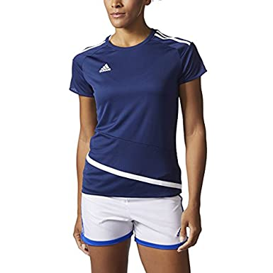 sale retailer 5986f 24042 Adidas Regista 16 Womens Soccer Jersey S Clear Blue-White